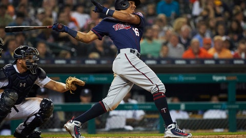 Ehire Adrianza, Twins infielder (↑ UP)