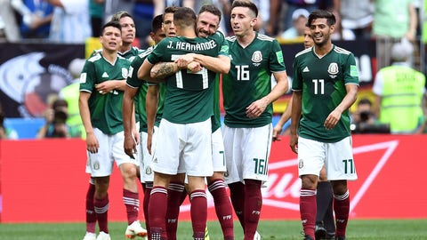 World Cup: Mexico 1, Germany 0