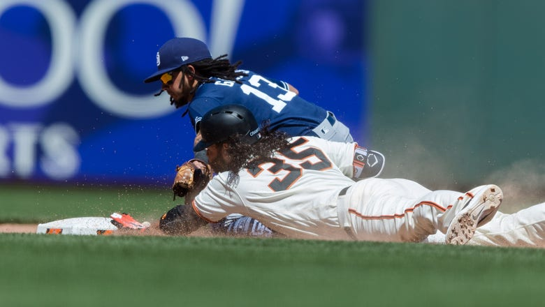 Crawford leads Giants to 5-3 win over Padres