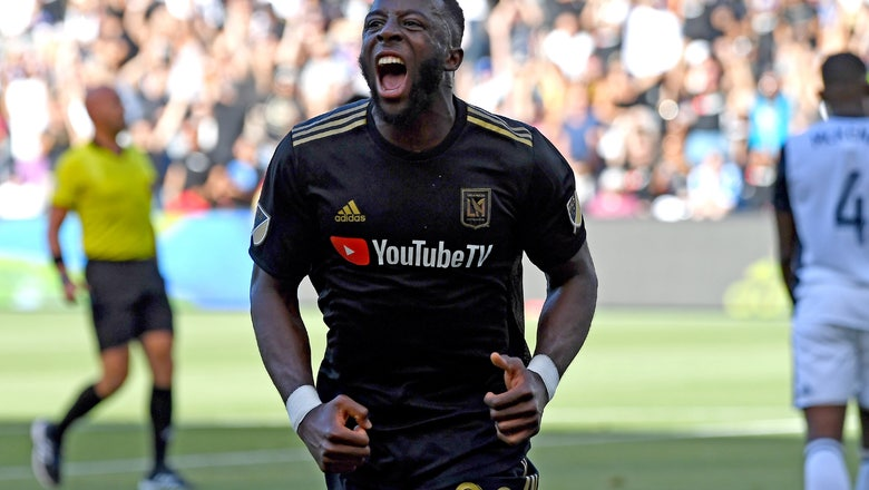 Adam Diomande nets LAFC's first hat trick in 4-1 throttle of Union