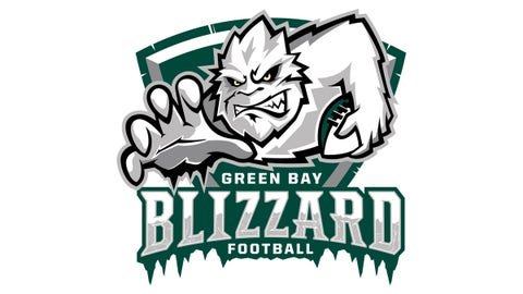 12. Green Bay Blizzard (Indoor Football)