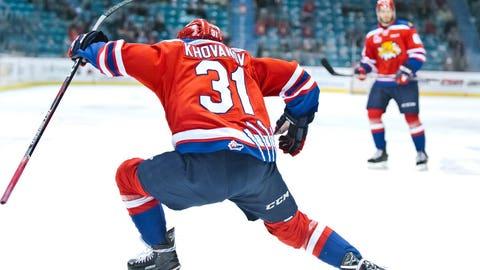 Round 3, pick 86 — C Alexander Khovanov (5-10, 198) Moncton (QMJHL)