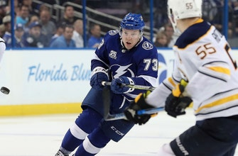Lightning re-sign forward Adam Erne to 1-year, 1-way contract