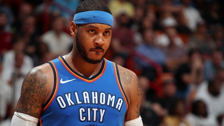 Sarah Kustok reveals how Melo's decision on his next team will dictate his priorities