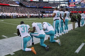Dolphins players could reportedly face suspensions for protesting during National Anthem under new team policy