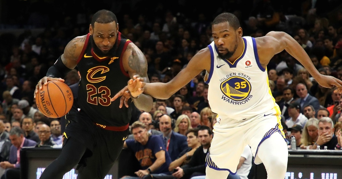 Colin Cowherd examines LeBron James and Kevin Durant's improving efficiency numbers
