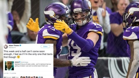 Adam Thielen, Vikings receiver
