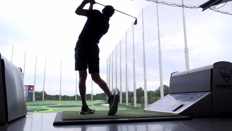 Getting some swings in: Lightning prospects get a break with visit to Top Golf
