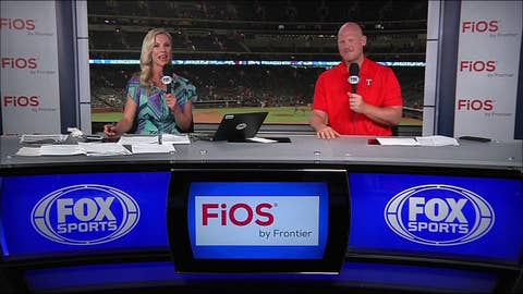 Rangers pour on the runs in late innings in 13-4 win | Rangers Live