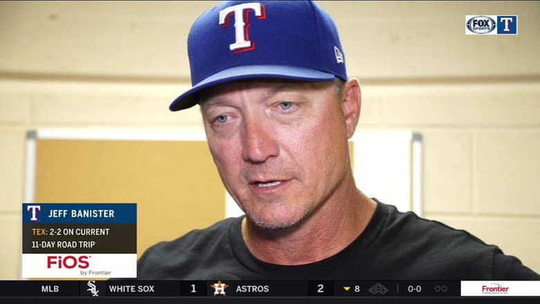 Jeff Banister on pitching to earn 3-0 shutout win over Detroit