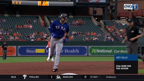WATCH: Gallo goes deep at Camden Yards   Rangers at Orioles