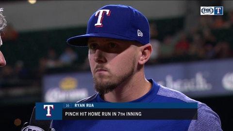 Ryan Rua's Pinch-Hit Home Run helps Rangers hold off Orioles