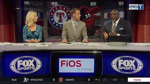 Ryan Rua comes up huge in pinch-hit situation   Rangers Live