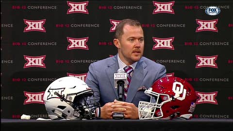 Riley on Replacing Baker at QB | Big 12 Media Days