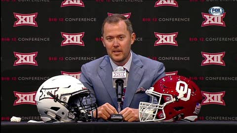 Lincoln Riley on New Redshirt Rule | Big 12 Media Days