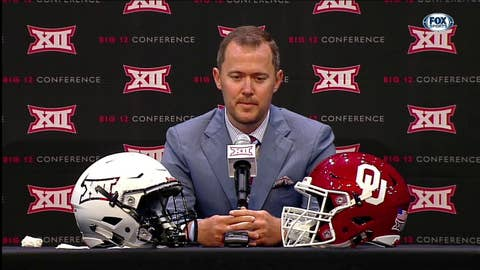 Riley on Differences Between Baker and Kyler | Big 12 Media Days