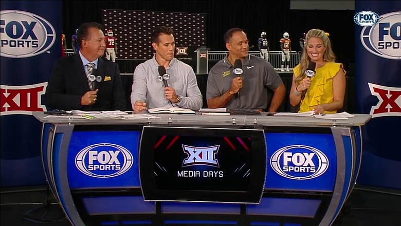 Brady Quinn and Robert Smith Join the Set | Big 12 Media Days