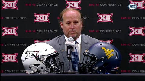 Dana Holgorsen on Potential New Look Offense | Big 12 Media Days