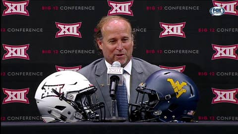 High Expectations for Dana Holgorsen and WVU in Week 1 | Big 12 Media Days