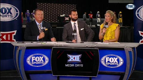 Will Grier Joins the Set | Big 12 Media Days