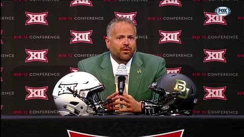 Identifying Defensive Playmakers | Big 12 Media Days