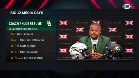 Taking the Torch at Baylor | Big 12 Media Days