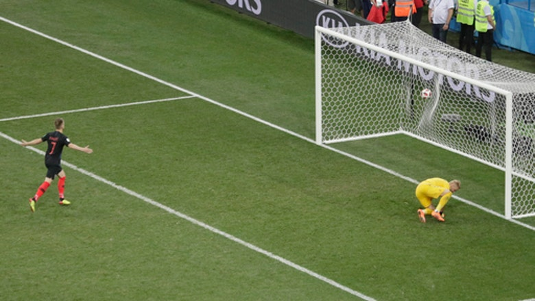 Denmark goalkeeper gets one-upped in World Cup shootout
