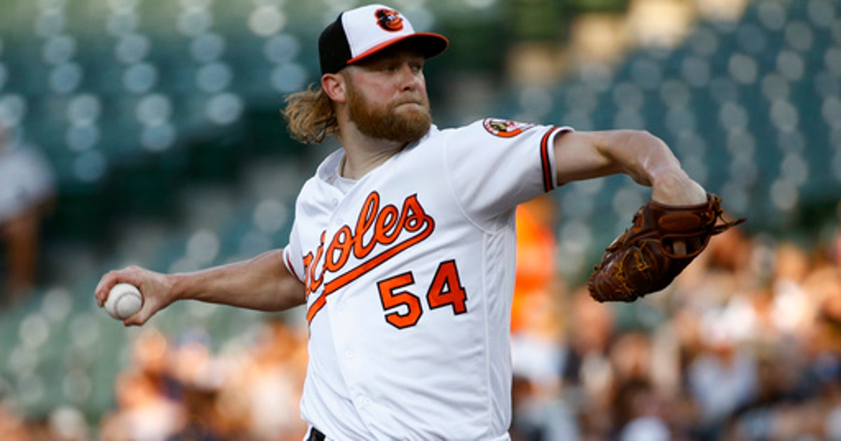 Orioles put pitcher Andrew Cashner on DL with neck strain | FOX Sports