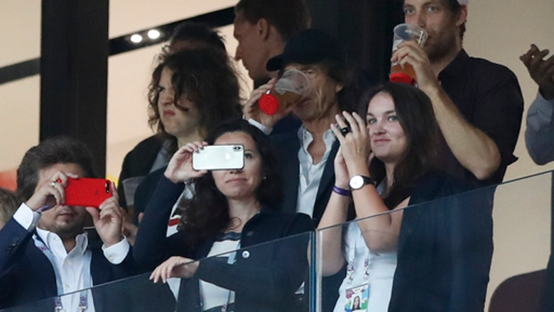 Mick Jagger went to see England and England lost, again
