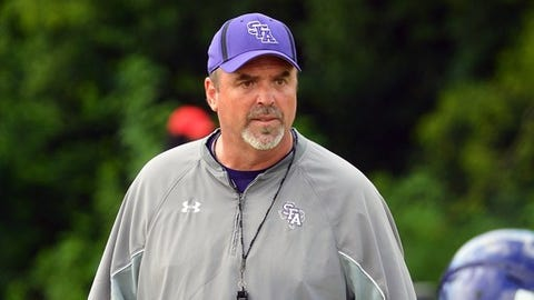 """<p>(STATS) - Who will guide Stephen F. Austin through the 2018 season has yet to be announced, but interim head coach Jeff Byrd is ready for the challenge.</p><p>And sounding like the leader moving forward.</p><p>Byrd has been in charge since the Southland Conference university suspended fifth-year coach Clint Conque on June 18 to investigate whether he violated university policy. At Thursday's Southland media day, where the Lumberjacks were picked sixth in the preseason poll, Byrd said he's developing more of a comfort role in his position as the season nears.</p><p>""""There's adversity that happens in family all the time,"""" Byrd said. """"What you have to deal with as a family is you don't push them away, you pull people closer. And I feel about these guys, we're building that relationship. To be a family, you have to stick together.""""</p><p>The Nacogdoches, Texas, school has not disclosed specifics of the investigation surrounding Conque, who's 21-25 the last four years.</p><p>Byrd is in his second year as Stephen F. Austin's defensive coordinator and was promoted to assistant head coach in March. He is listed as the interim coach in the digital version of the newly released SFA media guide.</p><p>SFA, which was 4-7 overall and 4-5 in the Southland last season, is one of the more experienced teams in the conference, returning 19 starters plus quarterback Foster Sawyer, who was lost to a knee injury in the fourth game. But the competition has been raised with the addition of a handful of potentially influential transfers.</p><p>""""When you look at the returning lettermen and you look at the guys that have been involved and had meaningful playing time, that's what excites me,"""" Byrd said. """"We look at the depth we have, we're just trying to say, OK, now we have a fight for positions.""""</p><p>Byrd said he expects quarterbacks coach Kevin Barbay to be promoted to offensive coordinator with assistance from Jeremy Moses, the school's lone Walter Payton Award winner in 2010.</p><p>"""