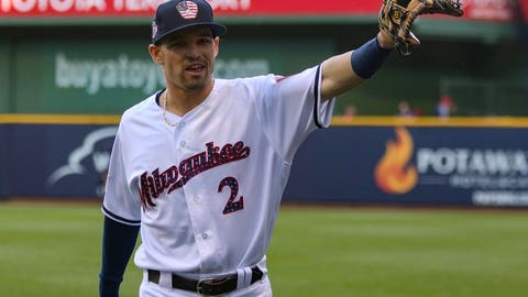 Nathan Orf, Brewers infielder