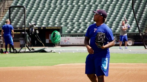 Willie Calhoun on time in Round Rock   Rangers Insider
