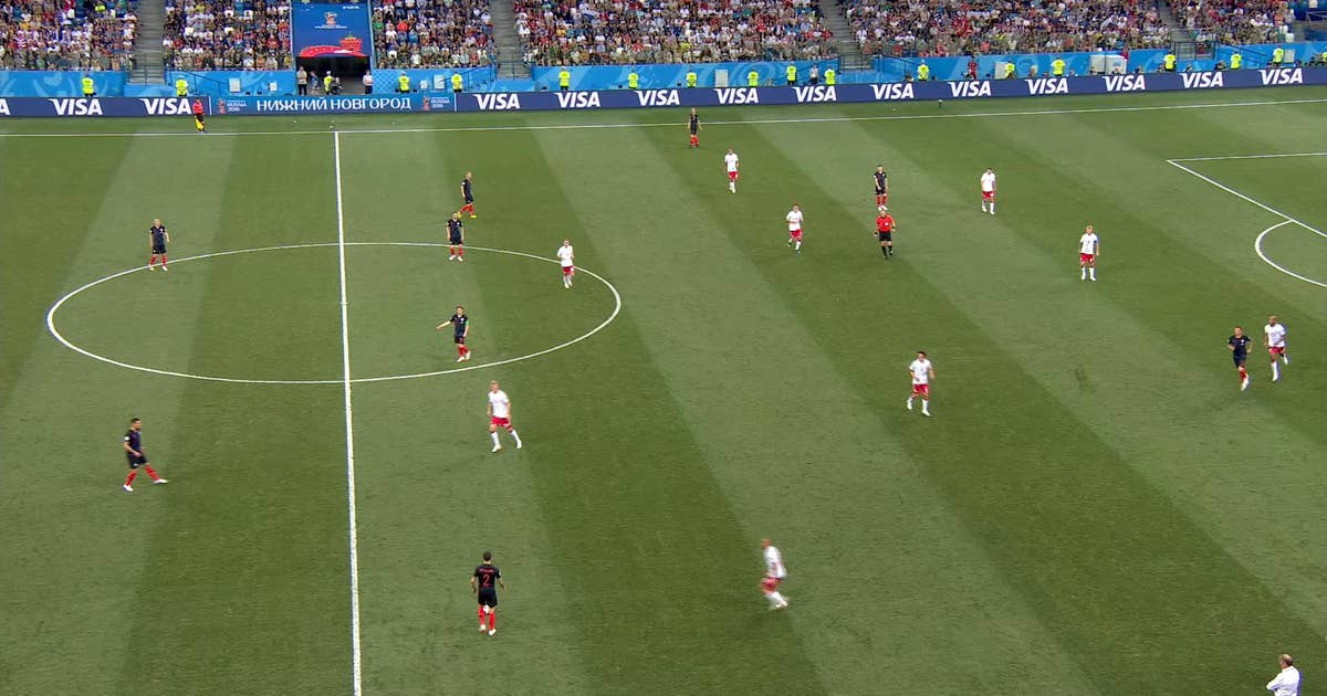 RAKITIC (Croatia) has a shot which is on target