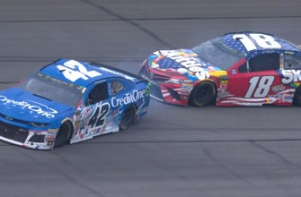Next Level: Breaking down that wild final lap between Kyle Busch & Kyle Larson