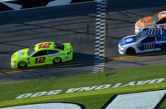 After leading the most laps in February, Ryan Blaney is ready to go back to Daytona