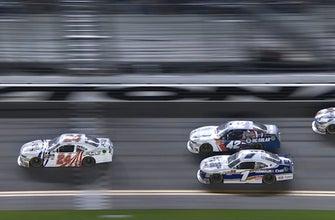 Kyle Larson wins Daytona after NASCAR deems Haley's pass illegal | 2018 NASCAR XFINITY SERIES