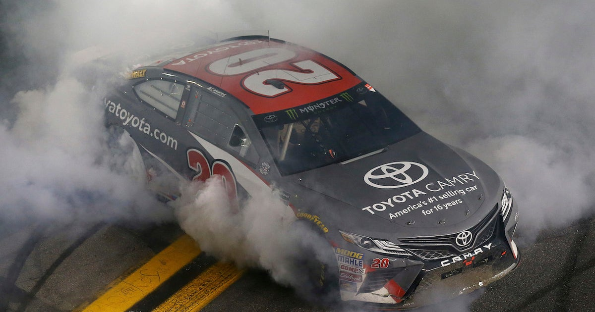 Erik Jones Scores First Career Win In A Wild Wreck Filled