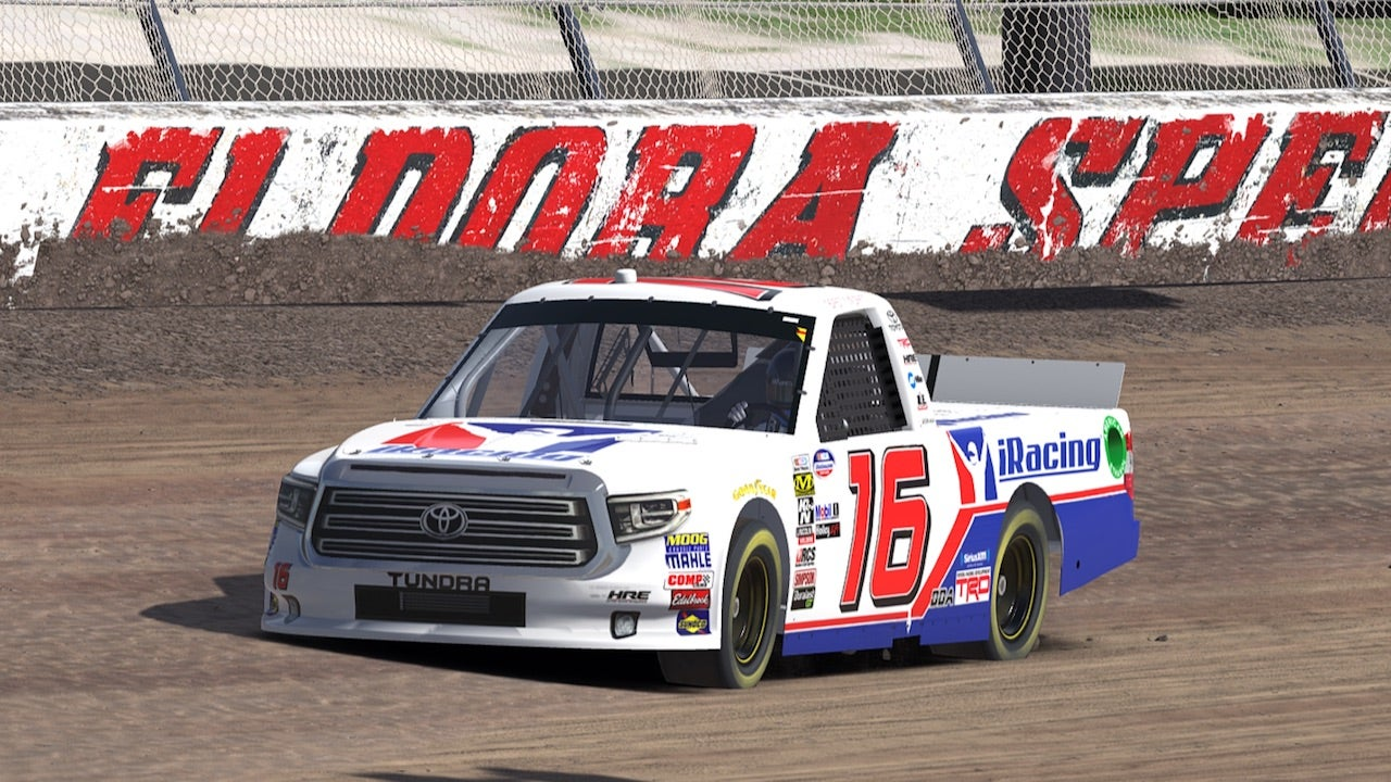 Brett Moffitt lands iRacing as a sponsor for Eldora