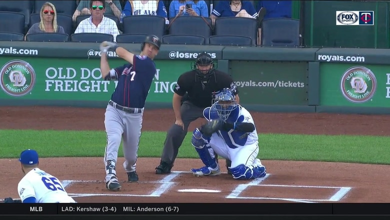 WATCH: Mauer surpasses Kirby Puckett for most doubles in Twins history