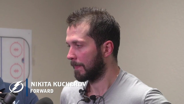 """Nikita Kucherov on signing extension before getting to free agency: """"Why wait?"""""""