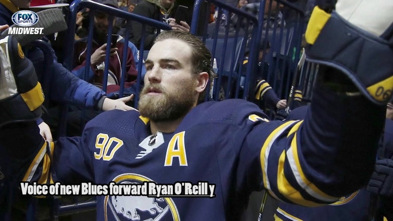 Ryan O'Reilly on joining Blues: 'I feel like I have a spark in me now'
