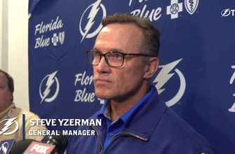 Steve Yzerman sheds a bit of light on Lightning free agency, talks dev camp