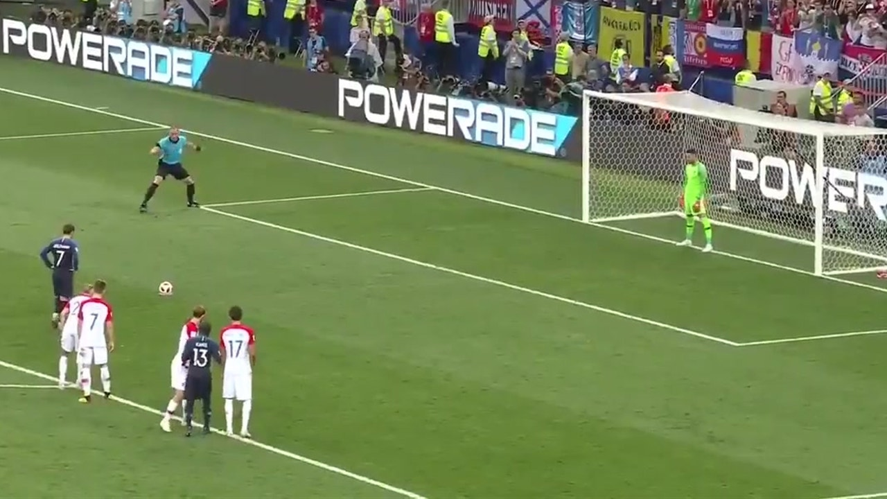 Watch All The Goals From 2018 FIFA World CupTM Final Between France And Croatia