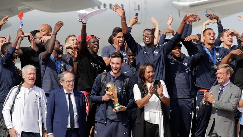 FIFA World Cup™ trophy arrives in France | 2018 FIFA World Cup™