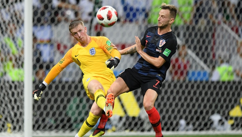 FOX Sports' Save of the Day: Jordan Pickford denies a Croatian shot   2018 FIFA World Cup™