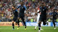 Paul Pogba buries a rocket off a deflection as France pours it on vs. Croatia
