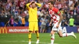 Hugo Lloris' howler gives one back to Croatia to narrow the lead to 4-2
