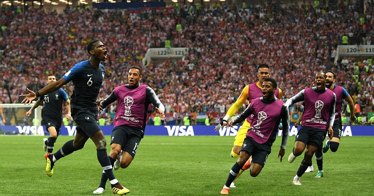 Watch frances emotional celebration after winning the 2018 fifa watch frances emotional celebration after winning the 2018 fifa world cup fox sports gumiabroncs Image collections