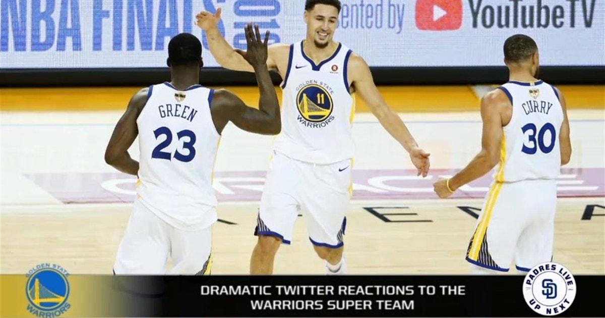 NBA Twitter gets dramatic after Warriors sign DeMarcus Cousins  87f18e69c