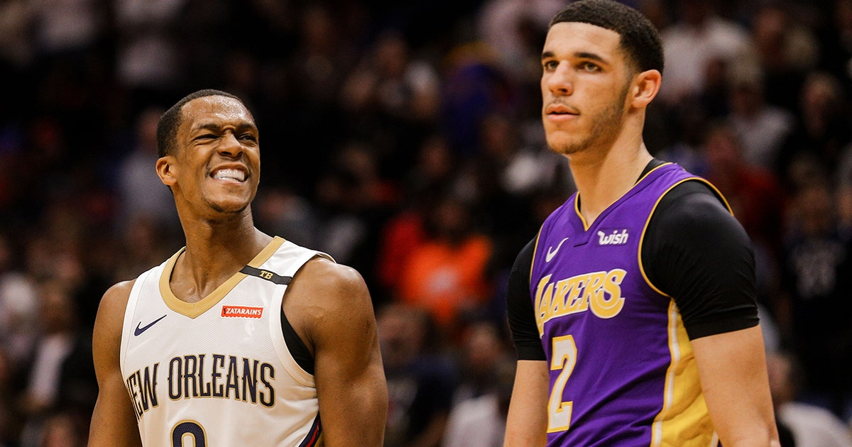 856c6014fef Nick Wright foresees Rajon Rondo as Lonzo Ball s Lakers mentor